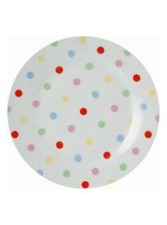 cath kidston polka dot plates