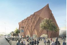 Parametric Brick Facade | Knippers Helbig Advanced Engineering
