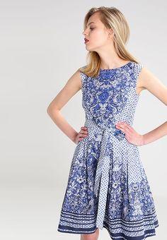 Derhy MAXILLAIRE - Summer dress - bleu for £79.99 (07 07 17 817cef477140a
