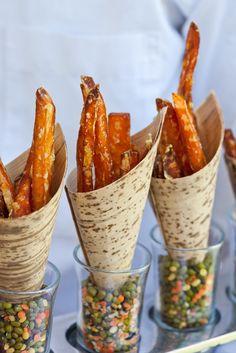 Appetizers - cones