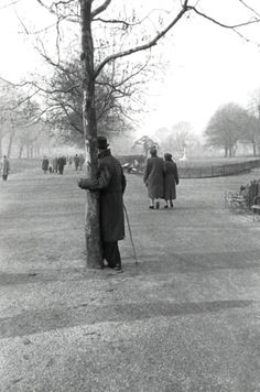 Hyde Park Londres 1950 - Robert Frank