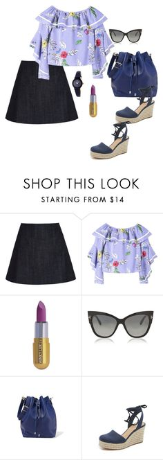 """""""Verano 2018"""" by carolortiz ❤ liked on Polyvore featuring dVb Victoria Beckham, Le Chateau, Winky Lux, Tom Ford, Proenza Schouler and MICHAEL Michael Kors"""