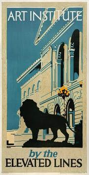 1920 advertisement for the El in Chicago