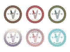 Badges by nicholas slater, via Behance