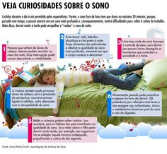 Curiosidades sobre o sono.  Saiba como fazer mais coisas em http://www.comofazer.org