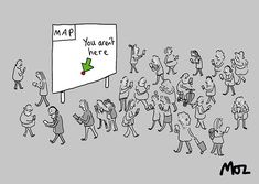 Not here . . . #publicinformation #map #streetgraphics #design #phone #disconnected #modernlife #distopia #cartoon #mozcartoons Public Information, Cartoons, Map, Phone, Instagram, Design, Decor, Cartoon, Telephone