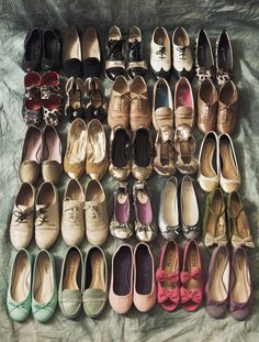One can never have too many shoes.