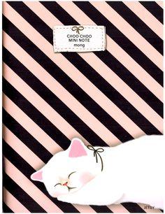 Jetoy Choo Choo Cat Mini Notebook: Mong Kitten