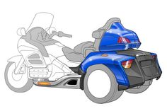 Roadsmith Trikes - Honda GoldWing HTS1800 - WhiteBoard Product Solutions