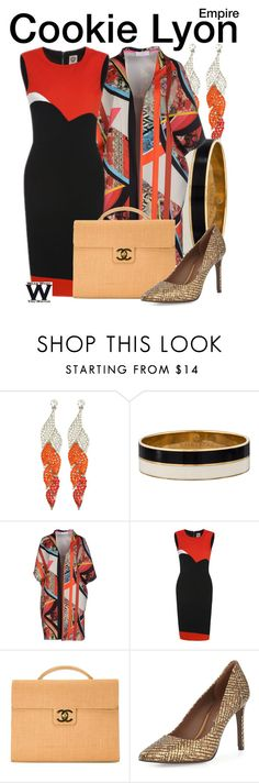 """Empire"" by wearwhatyouwatch ❤ liked on Polyvore featuring Kate Spade, Macchia J, Chanel, Donald J Pliner, television and wearwhatyouwatch"