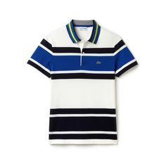 Men's Resort Bold Stripe Piqué Polo Shirt | LACOSTE