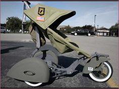 Oakley military stroller