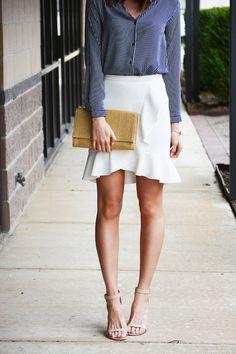 Ruffled skirt | Love, Lenore