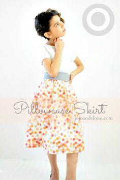 Diy Target Pillowcase Skirt