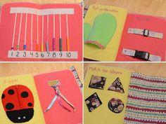 Children's Quiet Book Girl van sweetdreams3 op Etsy