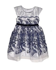 DKNY Off White Lace Sleeveless Dress w// Diaper Cover Set NEW Toddler Girls 2T 3T
