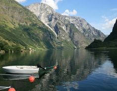 Sognafjorden - Norway's longest and deepest fjord.