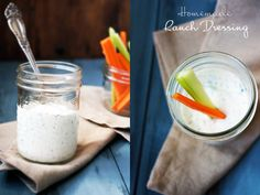 Homemade Ranch Dip & Dressing - Foodess