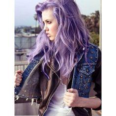 Lavender Hair Chalk // Large Light Purple Salon Grade Stick // Temporary Hair Color from TheFreeSpiritCo on Etsy. Light Purple Hair Dye, Pastel Purple Hair, Lilac Hair, Violet Hair, Colorful Hair, Ombre Hair, Dark Purple, Blue Hair, Brown Hair