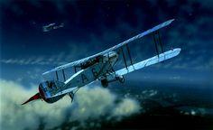 1917 09 Bristol night fighter No 39 Sqn