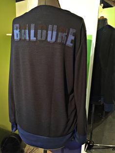 Baloure men's long sleeve shirt (back side view) #streetstyle #urbanstyle #mensfashion