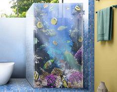 Fensterfolie - Sichtschutz Fenster Underwater Dreams - Fensterbilder