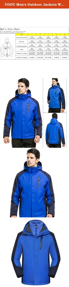 UOOU Men's Outdoor Jackets Waterproof Windproof Fleece Thickened Ski Jacket Blue. Outstanding Design The windproof cap, 3D full view, prevent the rain on the face. Three dimensional drawing rope, free to adjust the width of the hat. Under the armpit ventilation holes, movement to help breathe. Cuff magic stick, can adjust the size of the cuffs, to prevent the cold wind. Cuff magic stick, can adjust the size of the cuffs, to prevent the cold wind. Adjustable drawstring hem, firm and…