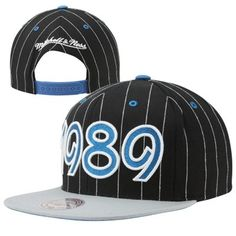 outlet store 7be21 001a3 Mitchell   Ness Orlando Magic 25th Anniversary Expansion Adjustable  Snapback Hat - Black When Bulls n