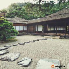 Crea un espacio único en casa y conoce como hacer un jardin zen. Un lugar donde puedes tener contacto con la naturaleza consiguiendo la tranquilidad que buscas. #Wayook #consejos #decoración #jardín #zen #tranquilidad #paz #deco #exteriores #oriental