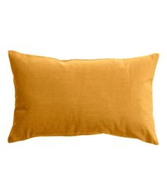 Light gray or mustard yellow. Cushion cover in cotton velvet with concealed zip. Pillow Room, Bed Pillows, Mustard Cushions, H & M Home, Yellow Throw Pillows, E Room, Bedroom Layouts, Velvet Cushions, Cotton Velvet