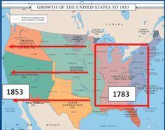 Westward Expansion Through Maps National geographic Social