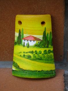 Tegolina in terracotta