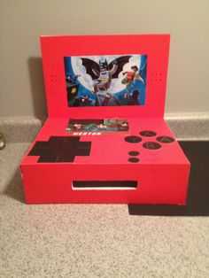 Nintendo 3ds lego batman valentine box