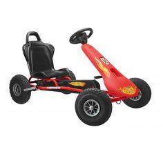 Ferbedo Go-Cart Air Racer Fire ar-2 Fire rot 8733 Gokart