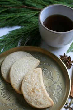 Danae's Chai Spiced Shortbread