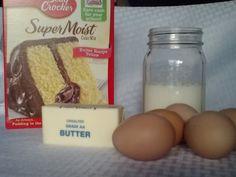 How to Make a Boxed Cake Mix taste like a Bakery Cake | house of hanleys