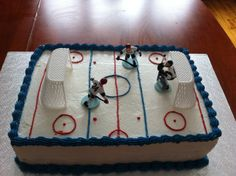 hockey Hockey, Creations, Cake, Desserts, Food, Projects To Try, Pie Cake, Meal, Cakes