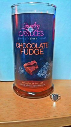 What do you think of this ring found inside a #ChocolateFudge Candle?