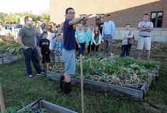 Gahanna students have been enjoying the bounty grown by students in the Gahanna Middle School South Garden Club.
