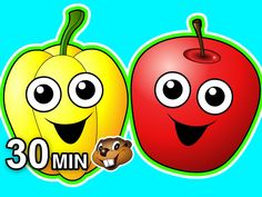 Here is a 30 Minute Video that Teaches Toddlers all about Healthy Food with Great Busy Beavers Songs & Lessons