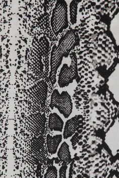 Black, white and gray snake-print washed-silk Adjustable shoulder straps Slips on silk Dry clean Patterns In Nature, Textures Patterns, Print Patterns, Animal Patterns, Surface Pattern, Pattern Art, Snake Skin Pattern, Girl Power Tattoo, Reptile Skin