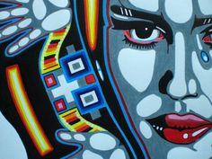 Face Graffiti, Abstract, Illustration, Face, Summary, Illustrations, Faces, Character Illustration, Facial