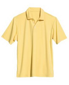 """Don't """"wear"""" out your marketing campaign! Try the Expert Men's Future Polo Shirt instead. Made of 100% microfiber fabric, this popular style apparel piece is treated with BodyFreshe to inhibit the growth of odor-causing bacteria and wicks moisture to keep you dry and comfortable. The relaxed fit design allows for maximum comfort. Great for country clubs! Sold blank or with screen printing. Please call us for pricing info and further details."""