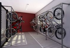 1 million+ Stunning Free Images to Use Anywhere Bike Storage Office, Brindley Place, Cycle Store, Range Velo, Bike Room, Office Images, Bike Parking, Parking Design, Urban Design