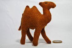 Felt Camel felt animal felt animals wool animal Steiner