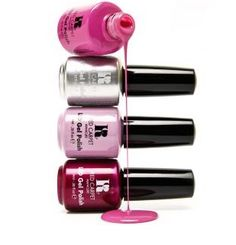 Red Carpet Manicure Pink Bottles #redcarpetmanicure #gelpolish #pink #nails #nailart #manicure