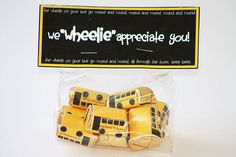 bus candy wrapper instant download bus driver appreciation