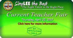 Banner for Current Teacher Fair