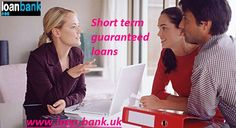 We  the suitable lender who will provide loans for the borrower's needs with sufficient loan amounts and flexible terms We guide people on loans through a simple and transparent process. Loan Bank, we help the borrowers in availing loans online and this saves their precious time. To the best deals on short term loans guarantee, click: www.loan-bank.uk/guaranteed-loans.html #loans #money