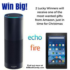 11/30/15 Enter to #win an #Amazon Echo! or a Kindle Fire Tablet!  #Giveaway #Sweepstakes https://wn.nr/sWzWd